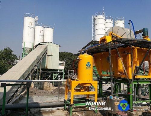 越南搅拌站污泥脱水
